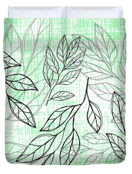 Titoki Leaf Duvet Cover