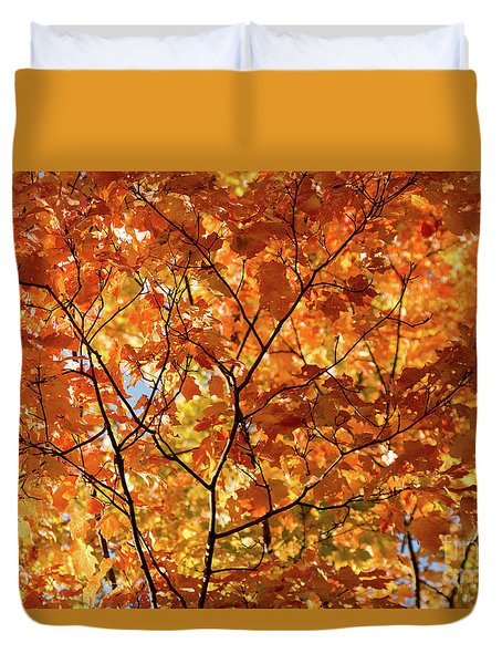 To Be Up In The Trees Duvet Cover