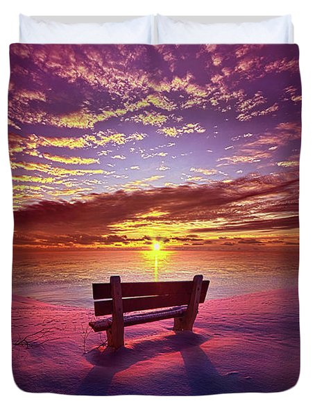 Duvet Cover featuring the photograph To Belong To Oneself by Phil Koch