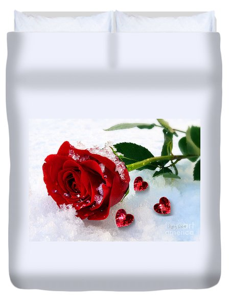 To Make You Feel My Love Duvet Cover