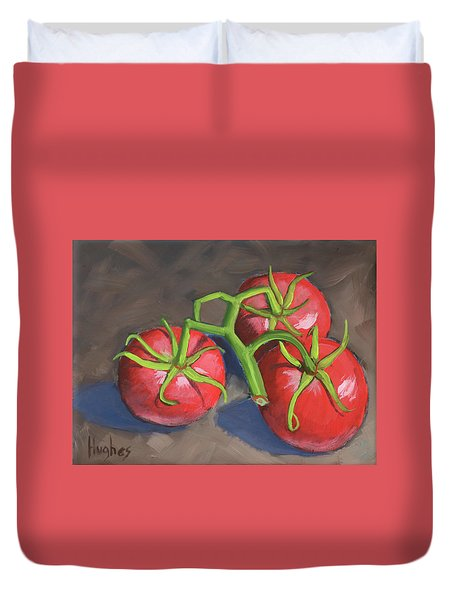 Tomatoes Duvet Cover