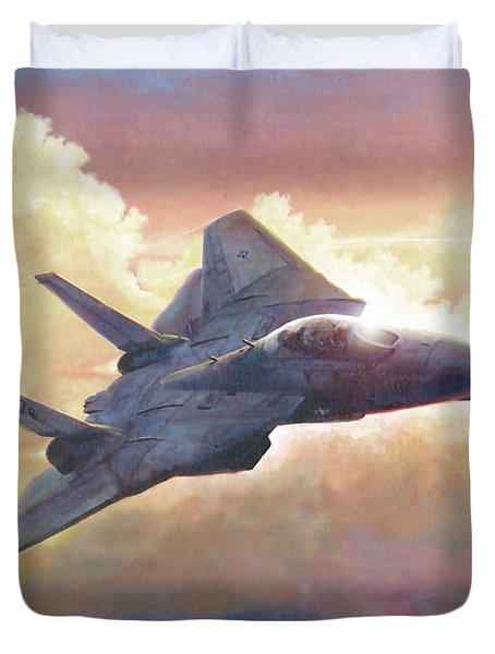 Tomcat Duvet Cover