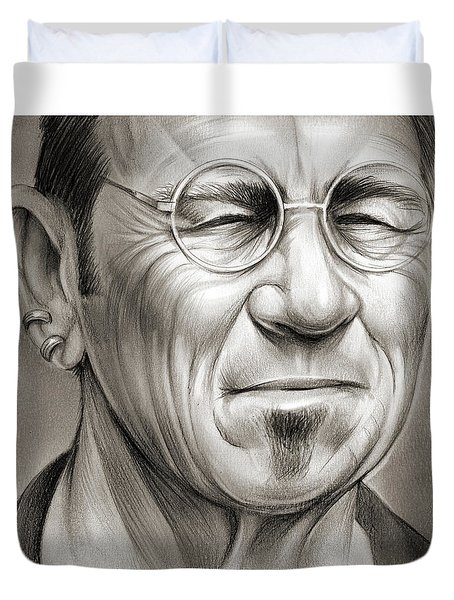 Tommy Lee Jones Duvet Cover
