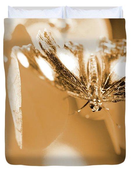 Toned Tropics Duvet Cover