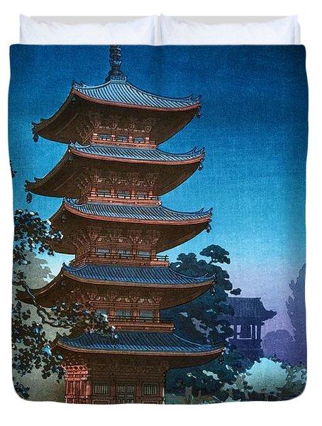 Top Quality Art - Asakusa Kinryusan Duvet Cover