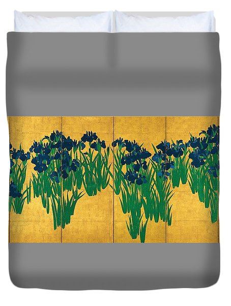 Top Quality Art - Iris Duvet Cover