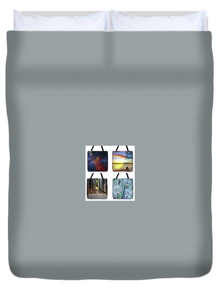 Tote Bags Samples Duvet Cover