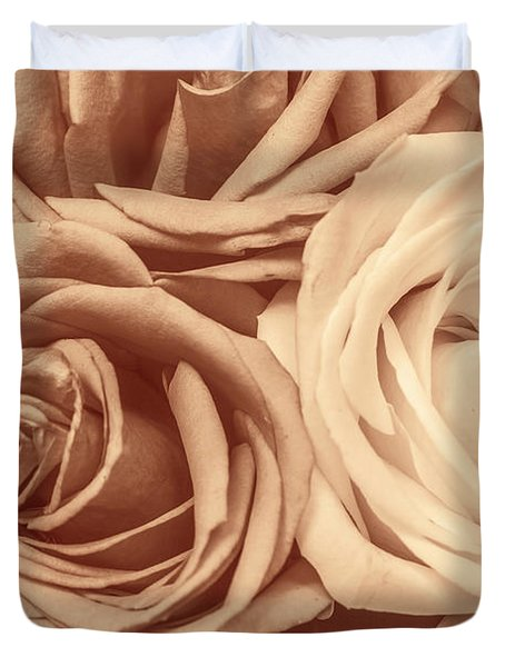 Touching Harmony Duvet Cover