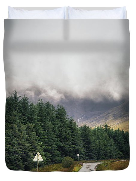 Towards The Fairy Pools Duvet Cover