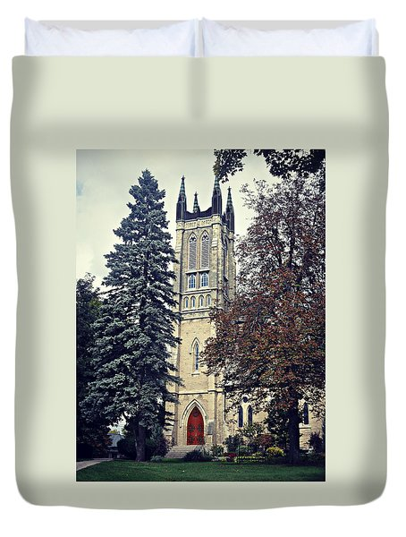 Tower Of Grace Duvet Cover