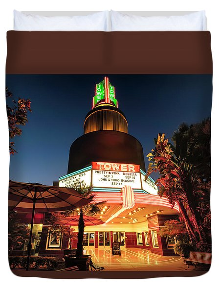 Tower Theater- Duvet Cover