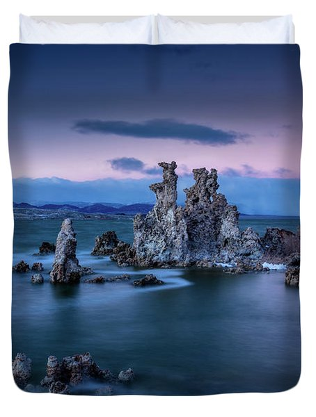 Towers Of Tufa Duvet Cover