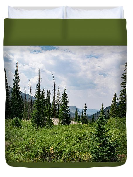 Trail To Gilpin Lake Duvet Cover