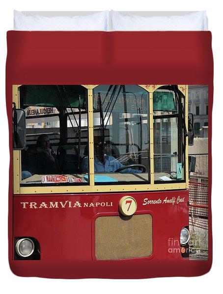 Tram Naples Duvet Cover