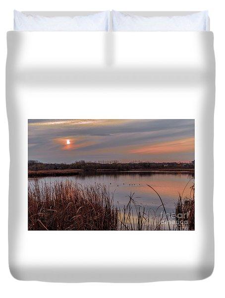 Tranquil Sunset Duvet Cover