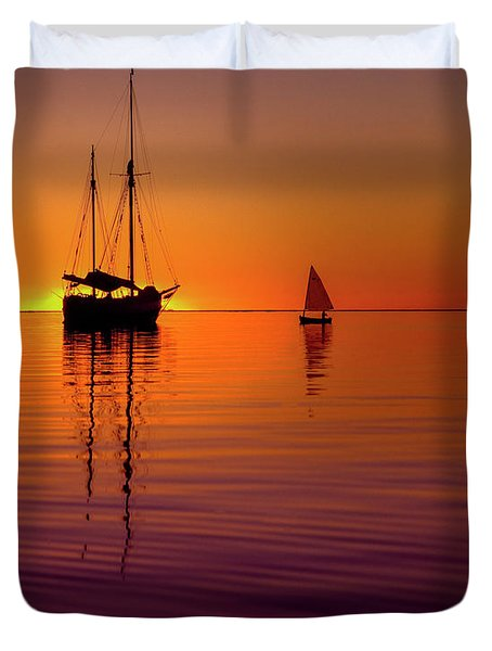 Tranquility Bay Duvet Cover