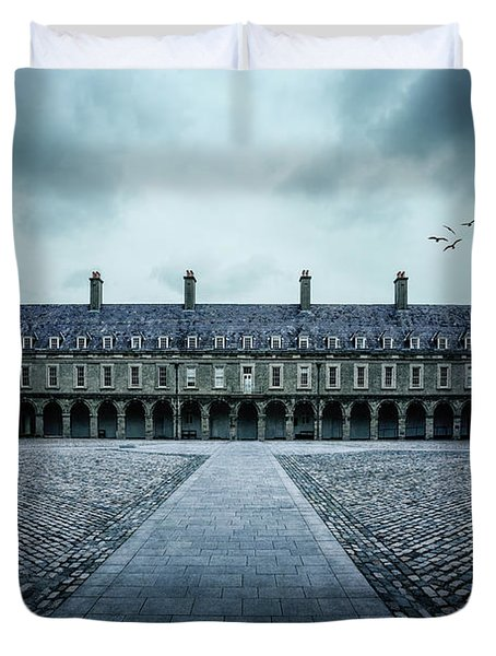 Trapped In Silence Duvet Cover