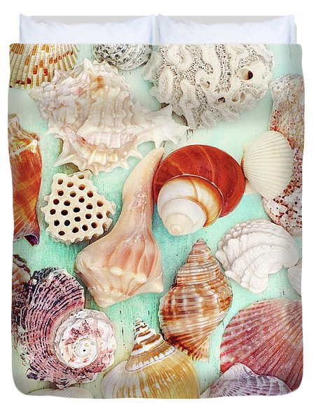 Treasures From The Sea  Duvet Cover
