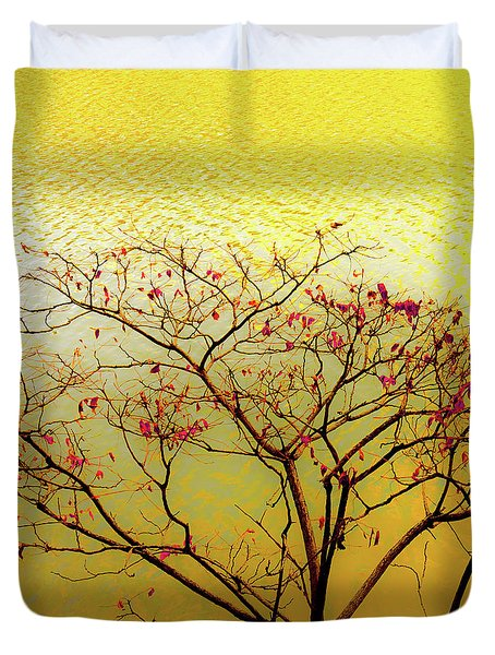 Tree And Water 2 Duvet Cover