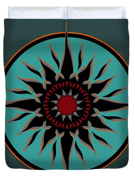 Tribal Sun Duvet Cover