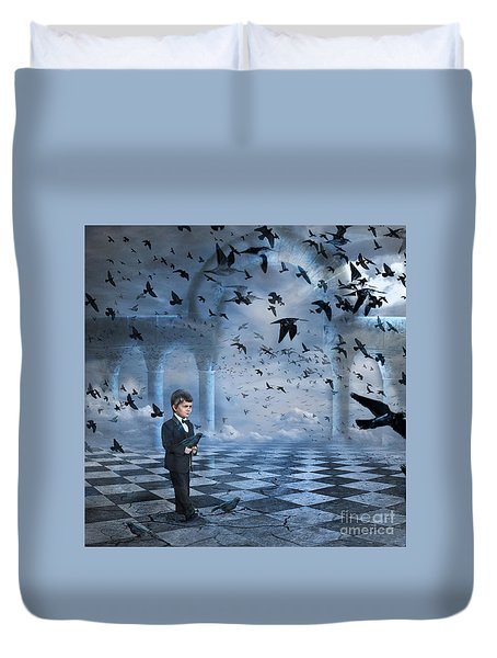 Tristan's Birds Duvet Cover