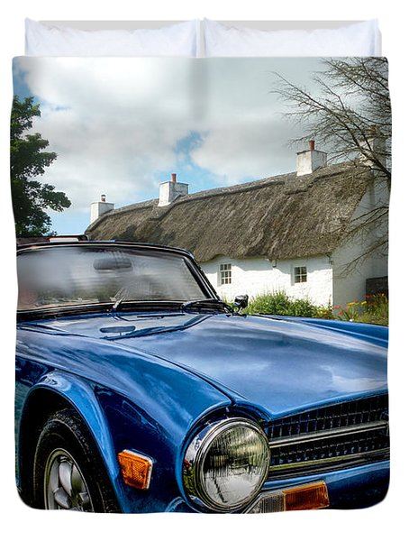 Triumph Tr6 Duvet Cover