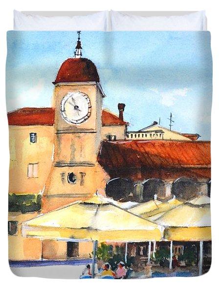 Trogir, Croatia Duvet Cover
