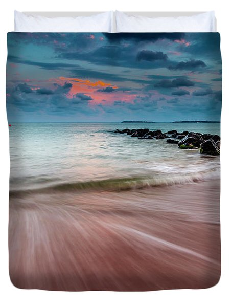 Tropic Sky Duvet Cover