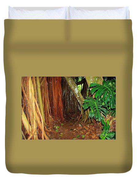 Tropical Corner Duvet Cover