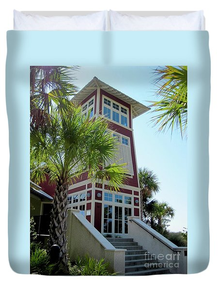 Tropical View Duvet Cover