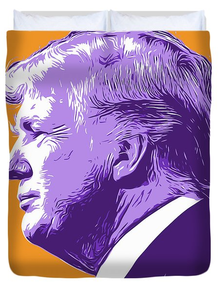 Trump Popart Duvet Cover