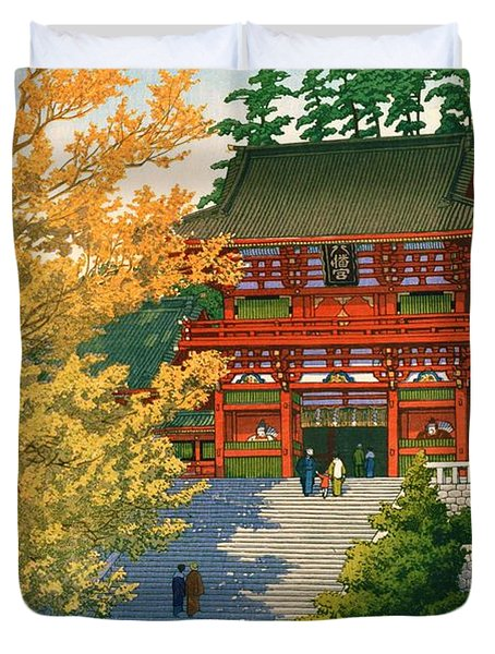 Tsuruokahachimangu - Top Quality Image Edition Duvet Cover