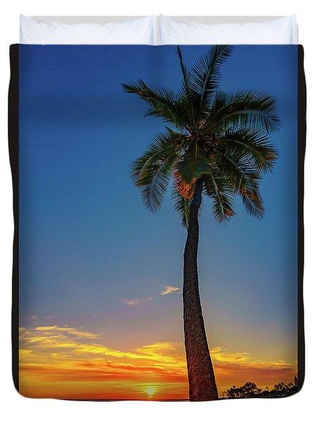 Tuesday 13th Sunset Duvet Cover