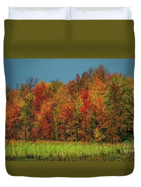 Tug Hill Colors Duvet Cover