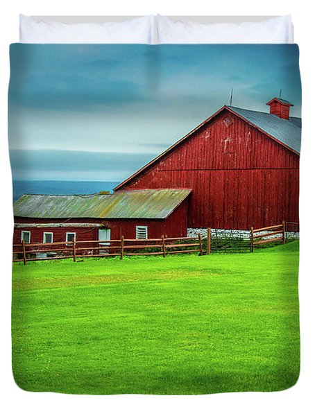 Tug Hill Farm Duvet Cover