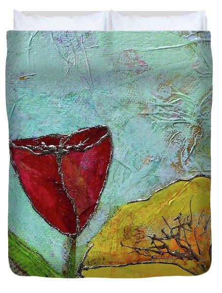 Tulip Festival V Duvet Cover
