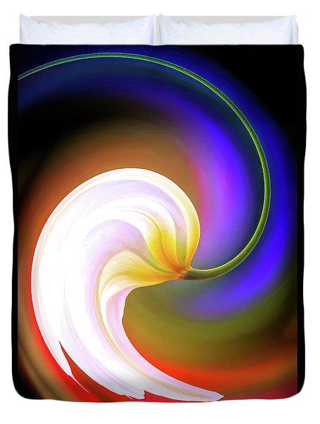 Tulip Twirl Duvet Cover