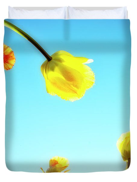 Tulips Holland Michigan 17 Duvet Cover
