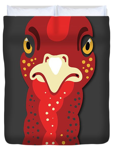 Turkey Stare Jp Duvet Cover