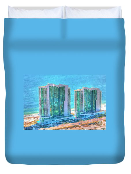 Turquoise Place Duvet Cover