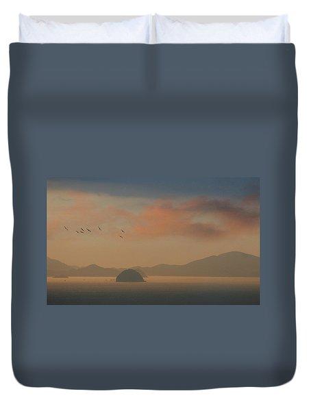 Twilight Calm Duvet Cover
