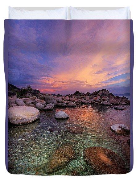 Twilight Canvas  Duvet Cover
