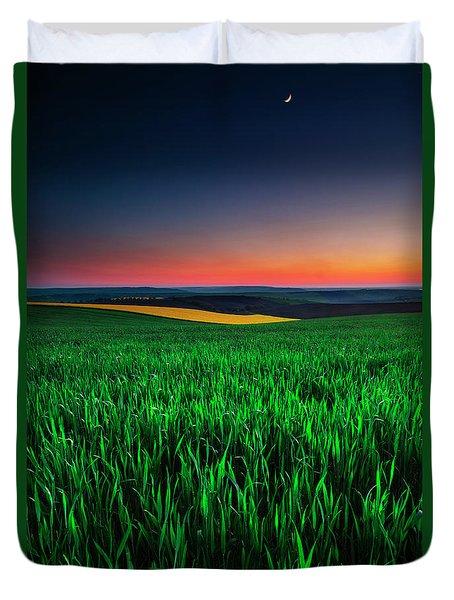 Twilight Fields Duvet Cover