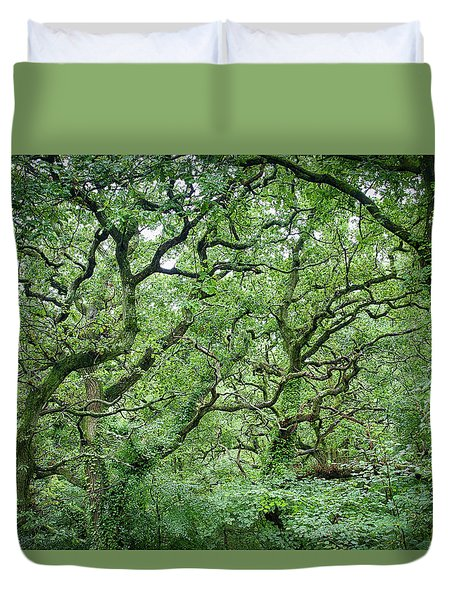Twisted Forest Full Color Duvet Cover