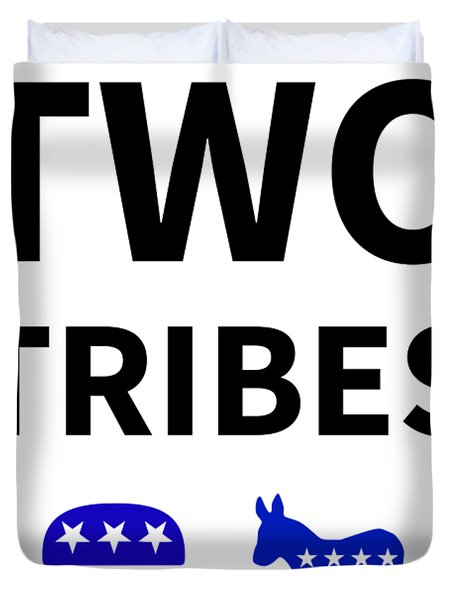 Two Tribes Duvet Cover