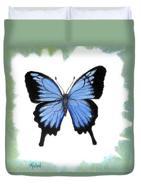 Ulysses Blue Duvet Cover