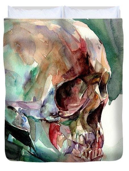 Unconfirmed Skull Duvet Cover