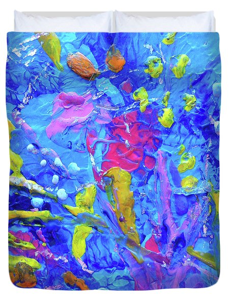 Under The Reef - Detail Duvet Cover