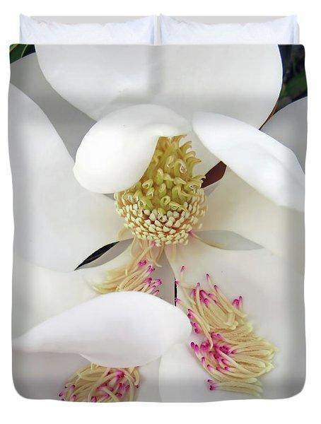 Unfolding Beauty Of Magnolia Duvet Cover