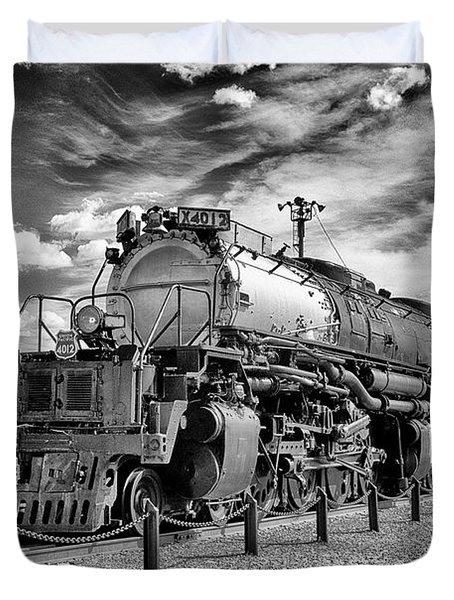 Union Pacific 4-8-8-4 Big Boy Duvet Cover